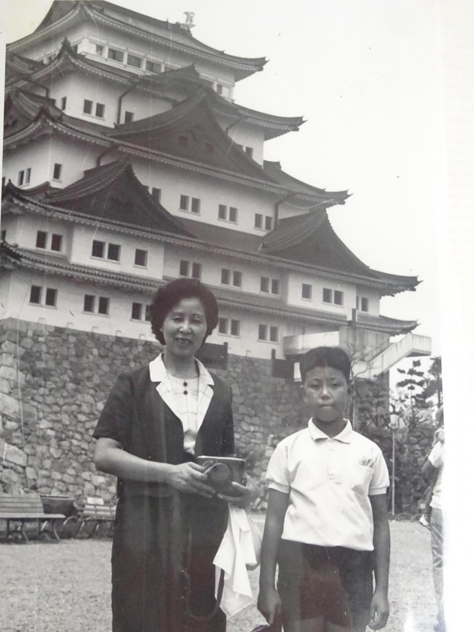 1965年 昭和40年 8月家族 小学生5年 で愛知 名古屋 犬山 三重 伊勢