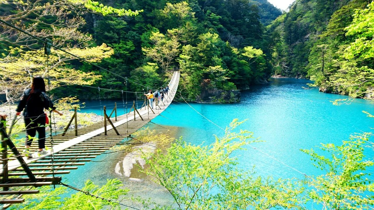 『夢の吊り橋』寸又峡温泉(静岡県)の旅行記・ブログ by LENさん ...