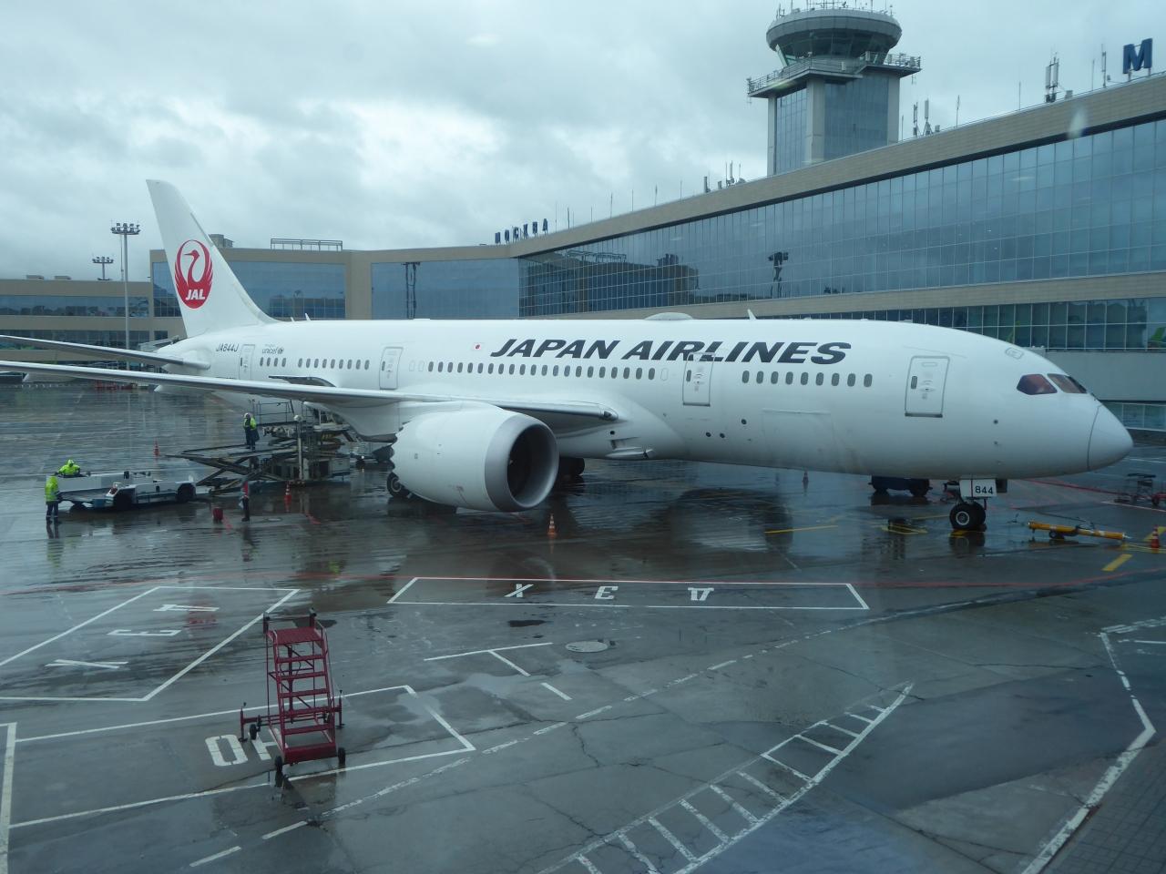 日本航空のPエコノミーで東京~...