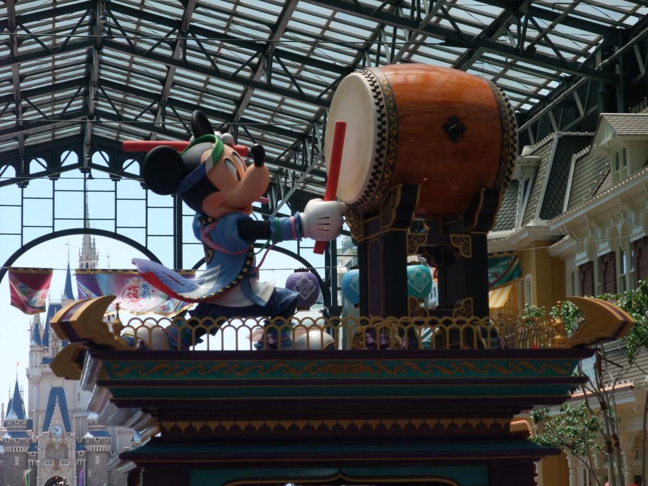 2017年も東京ディズニーランドのディズニー夏祭りへ行ってきた!【前編
