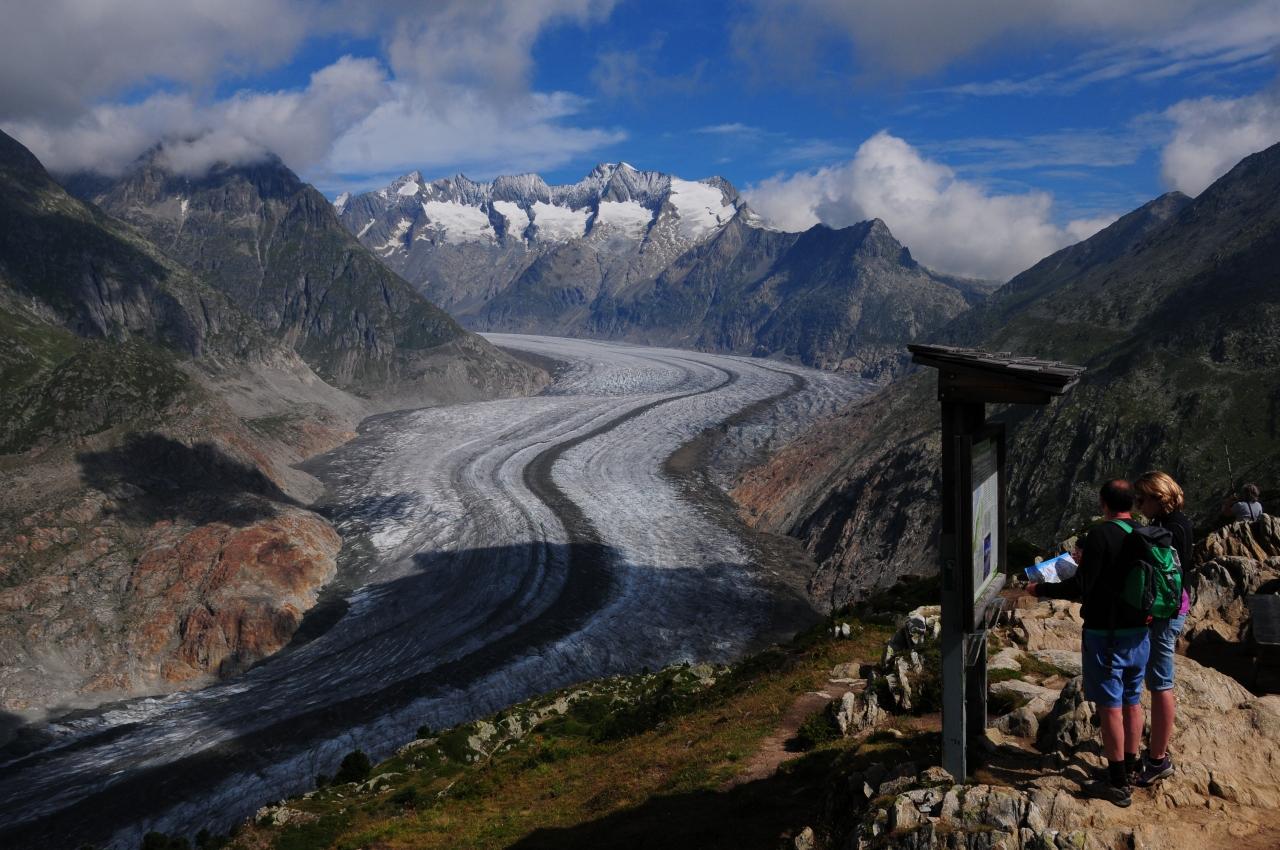 絶景を求めて3度目のスイスその06~アレッチ氷河/モースフルー