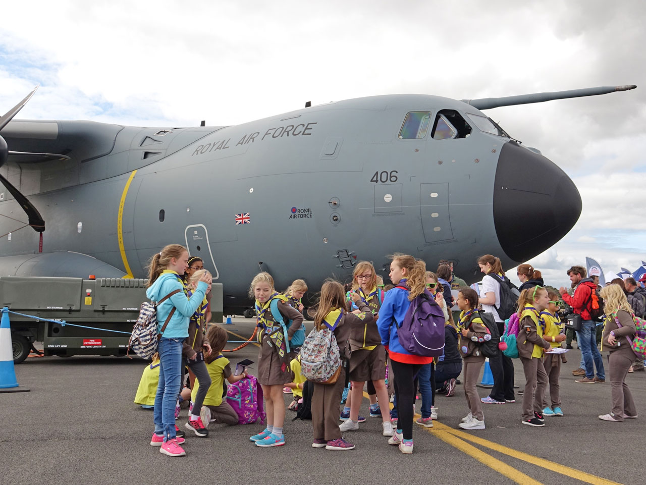 イギリス最大の航空ショー、RIAT...