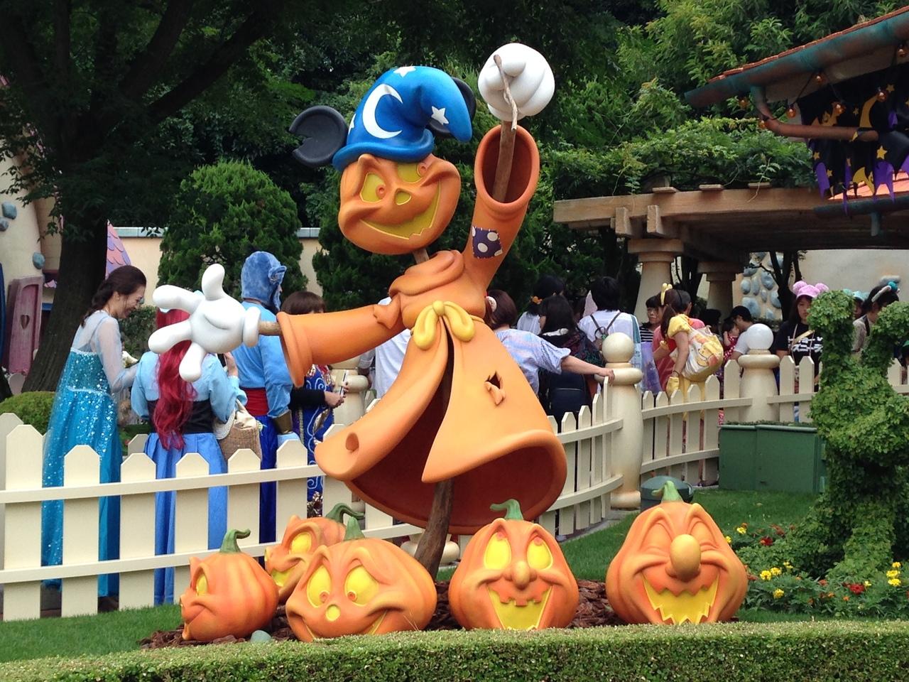 2017年9月23日(土) 東京ディズニーランドのハロウィーン!おひとりさま