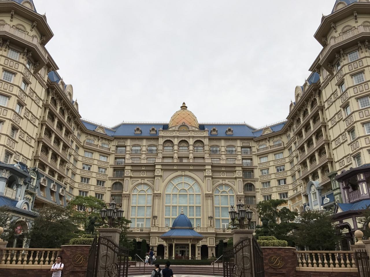 2017年9月 ディズニーシー、ディズニーランドホテル』東京ディズニー