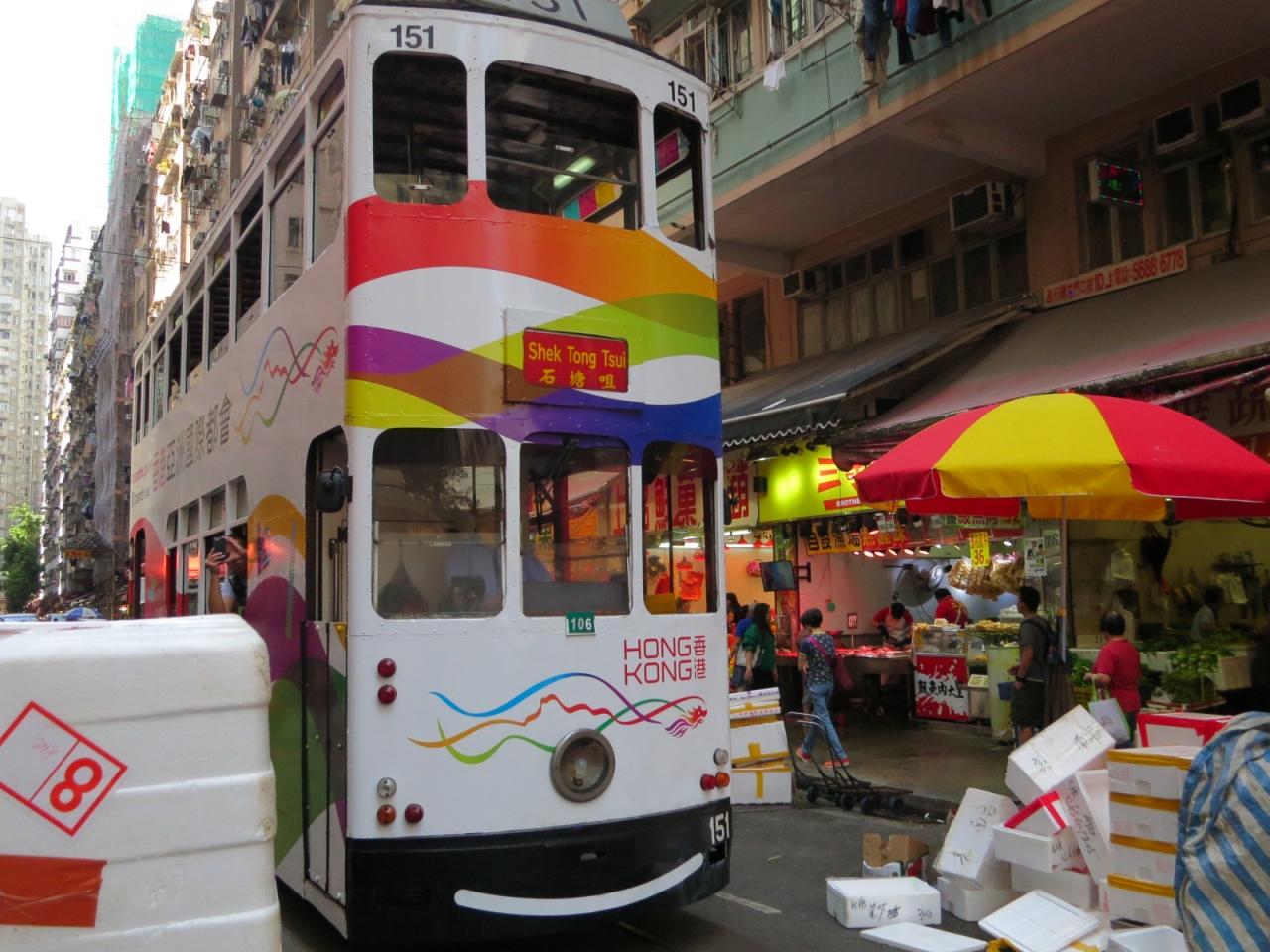 香港2017その1(トラムで北角へ...