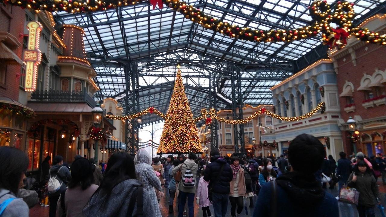 2017.11 ディズニーのクリスマス』東京ディズニーリゾート(千葉県)の旅行