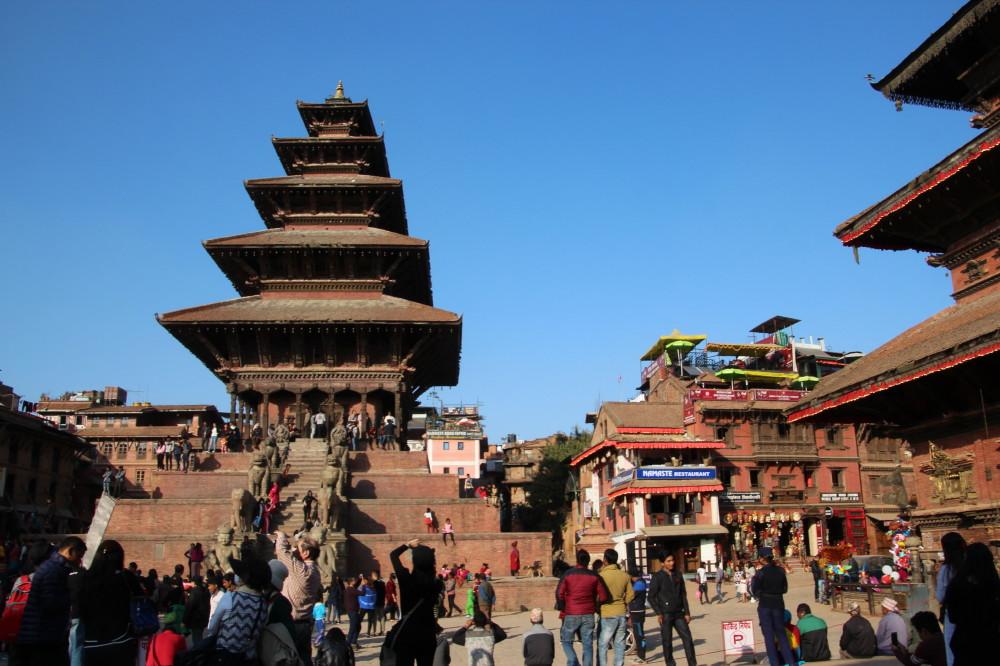 ネパール旅行①(バクタプルから...