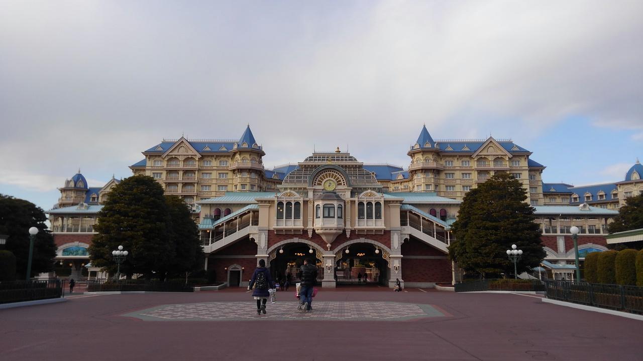 2018.1 ディズニーランドホテル』東京ディズニーリゾート(千葉県)の旅行