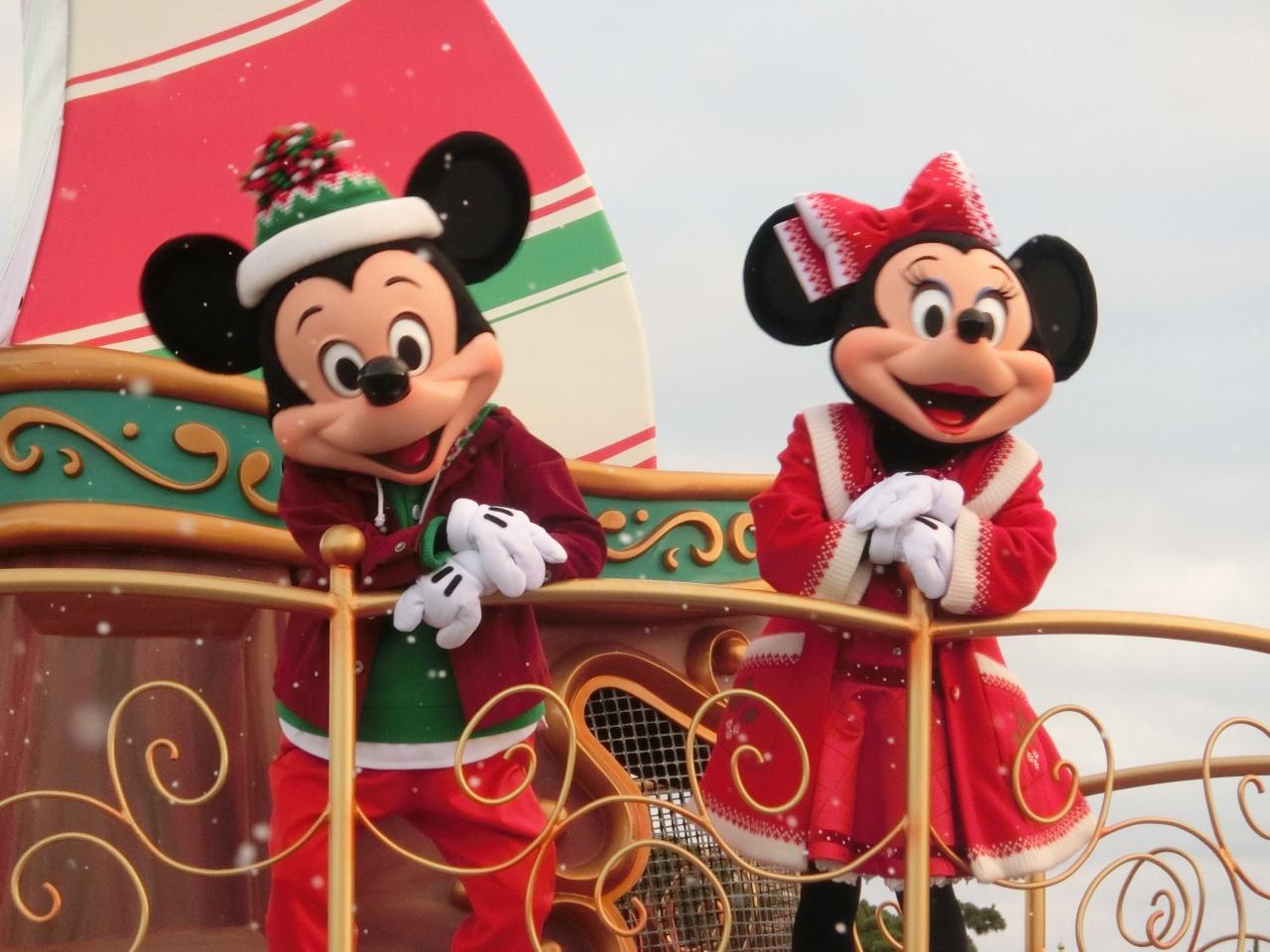 2つのパークで「ディズニー・クリスマス」を楽しむ2days≪2日目