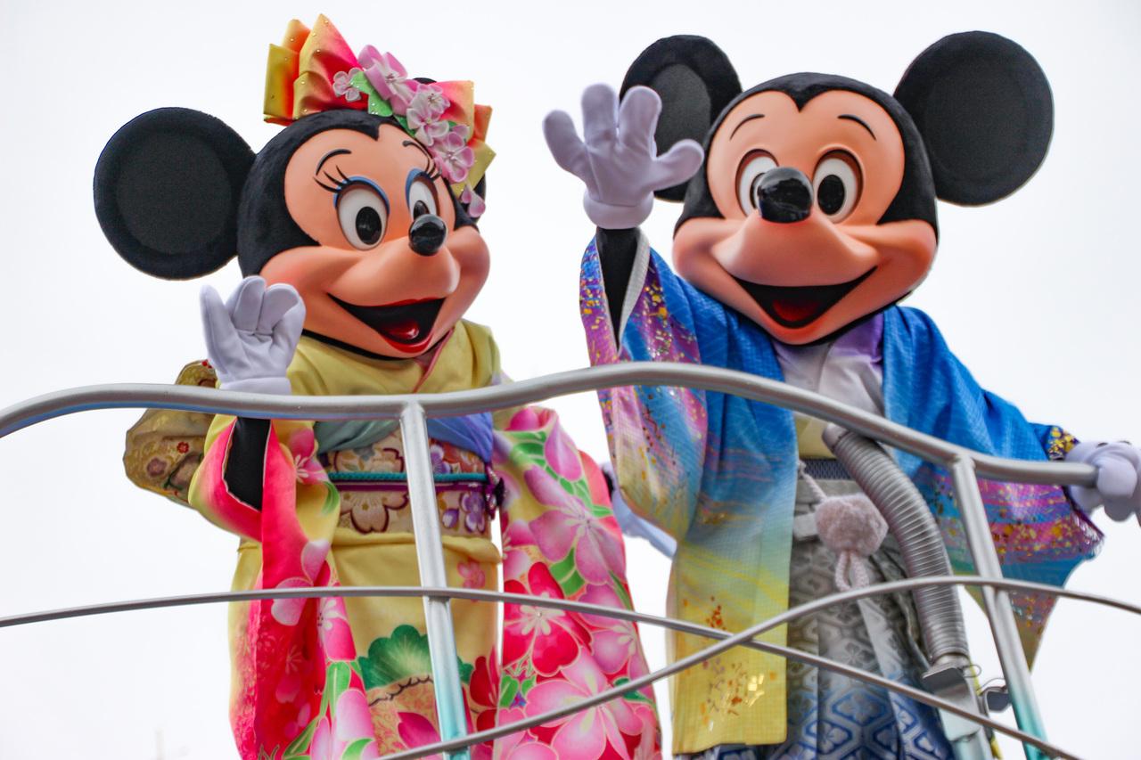正月ディズニー①』東京ディズニーリゾート(千葉県)の旅行記・ブログ by