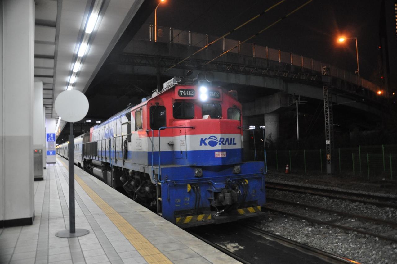 2018年1月韓国鉄道旅行5(セマウ...