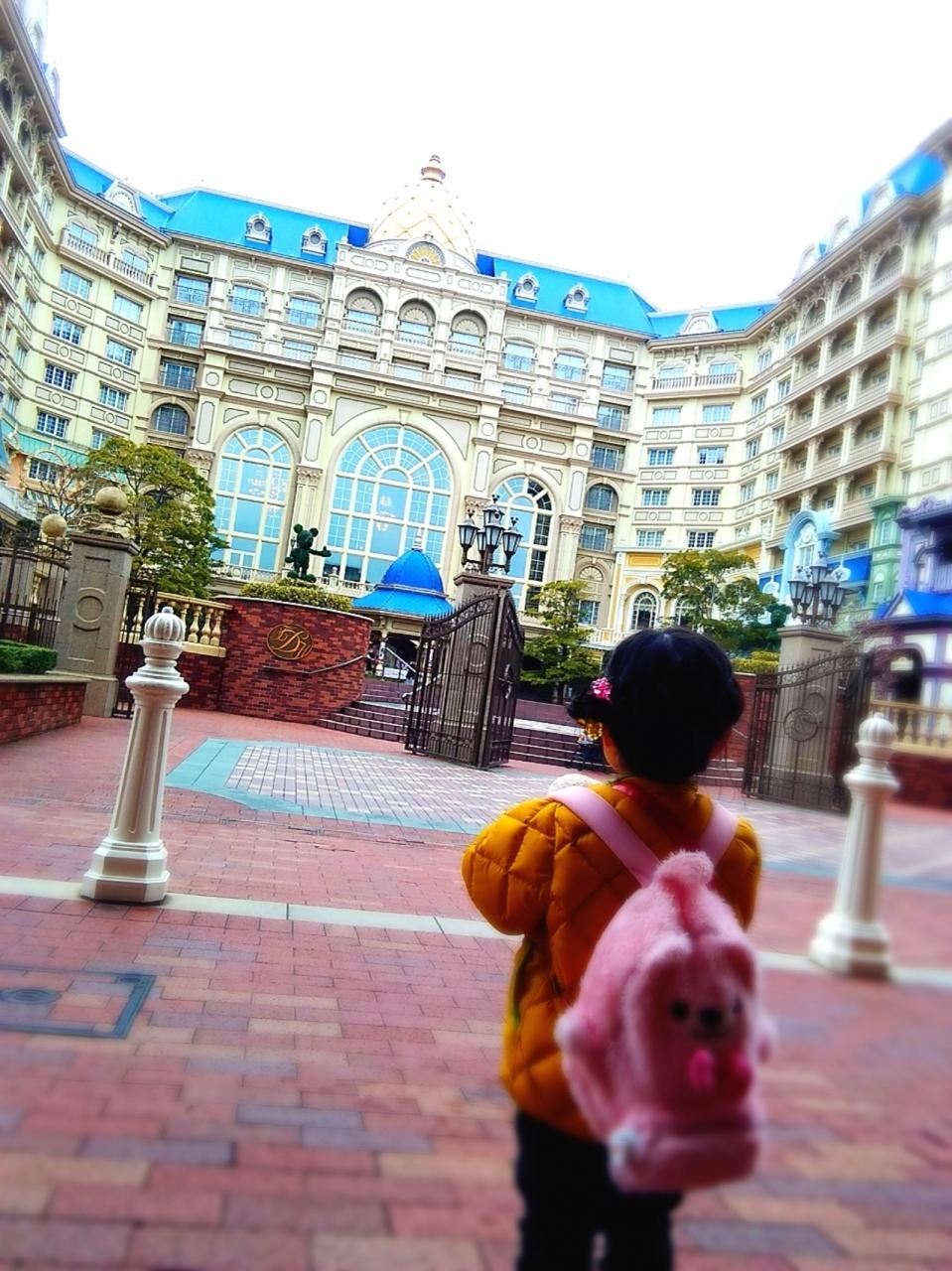 2歳児と60代と☆ディズニーランドホテル「美女と野獣ルーム」に贅沢宿泊