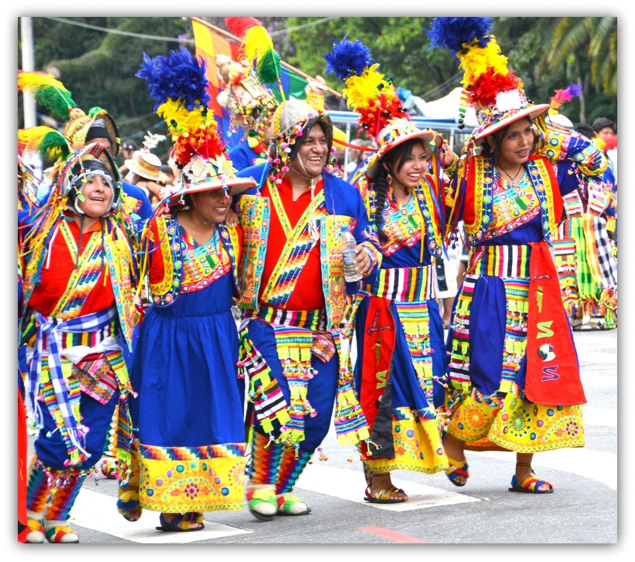 ブラジルで、ボリビア移民による...