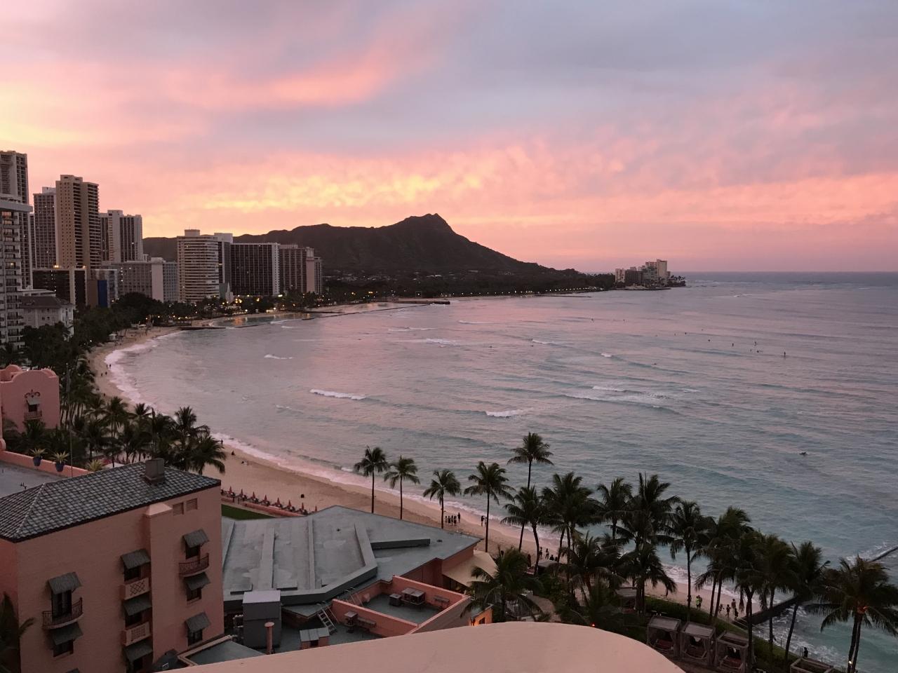 295459521591 2018 ハワイ①(エアー&ホテル)&ワイケレで兄弟喧嘩勃発』オアフ島 ...
