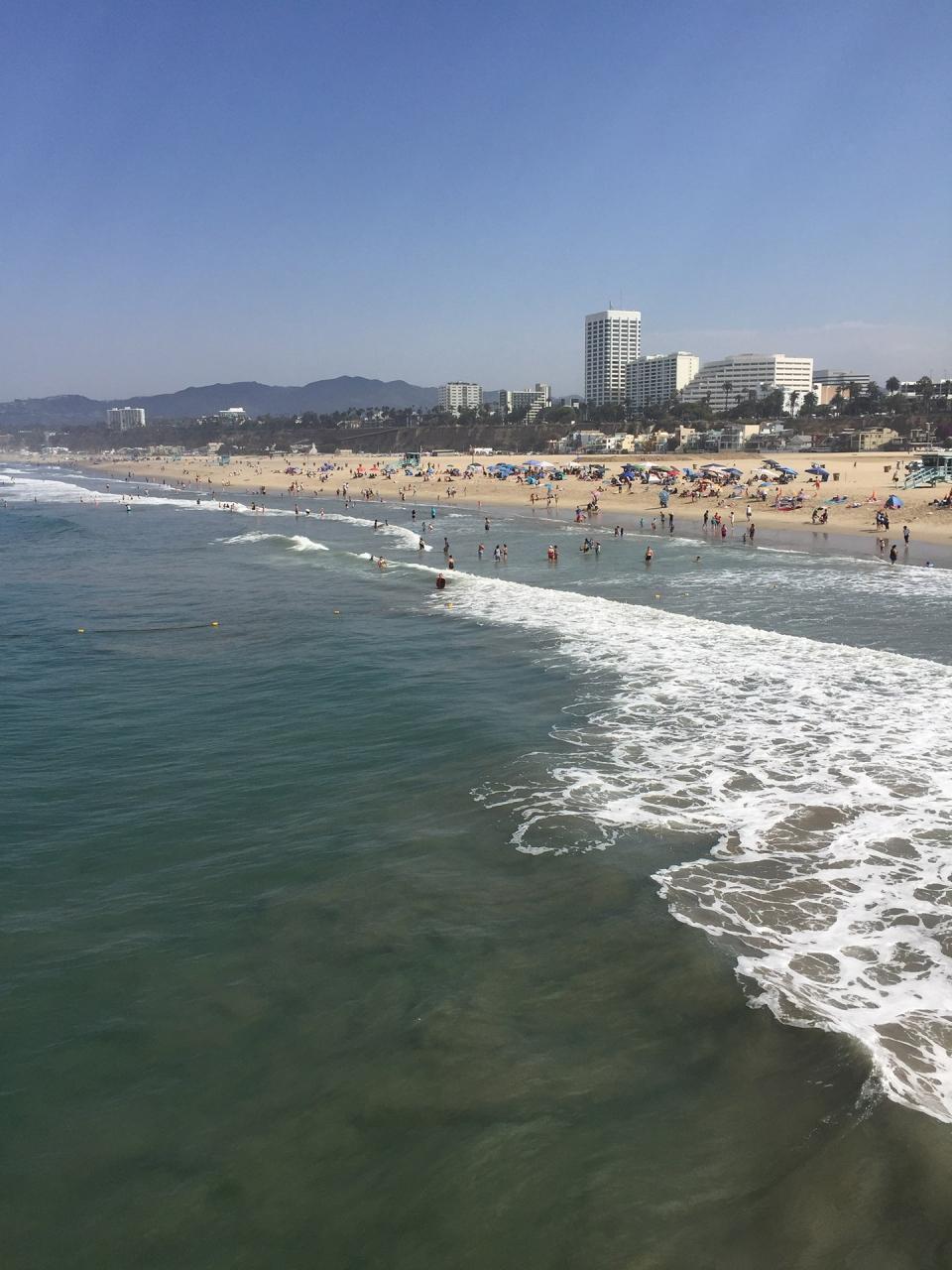 サンタモニカで街歩きとポケモンgo』ロサンゼルス(アメリカ)の旅行記