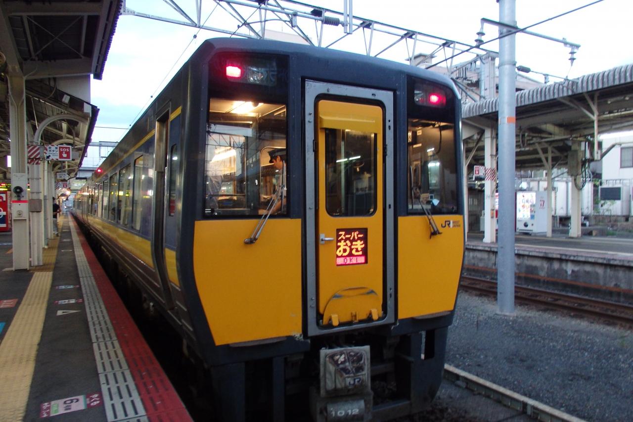 2018.09 山陰めぐりパス(5)「スーパーおき1号」にて島根県を端から ...