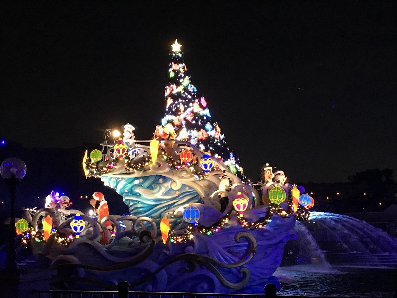 2017クリスマス子連れディズニーシー』東京ディズニーリゾート(千葉県)の