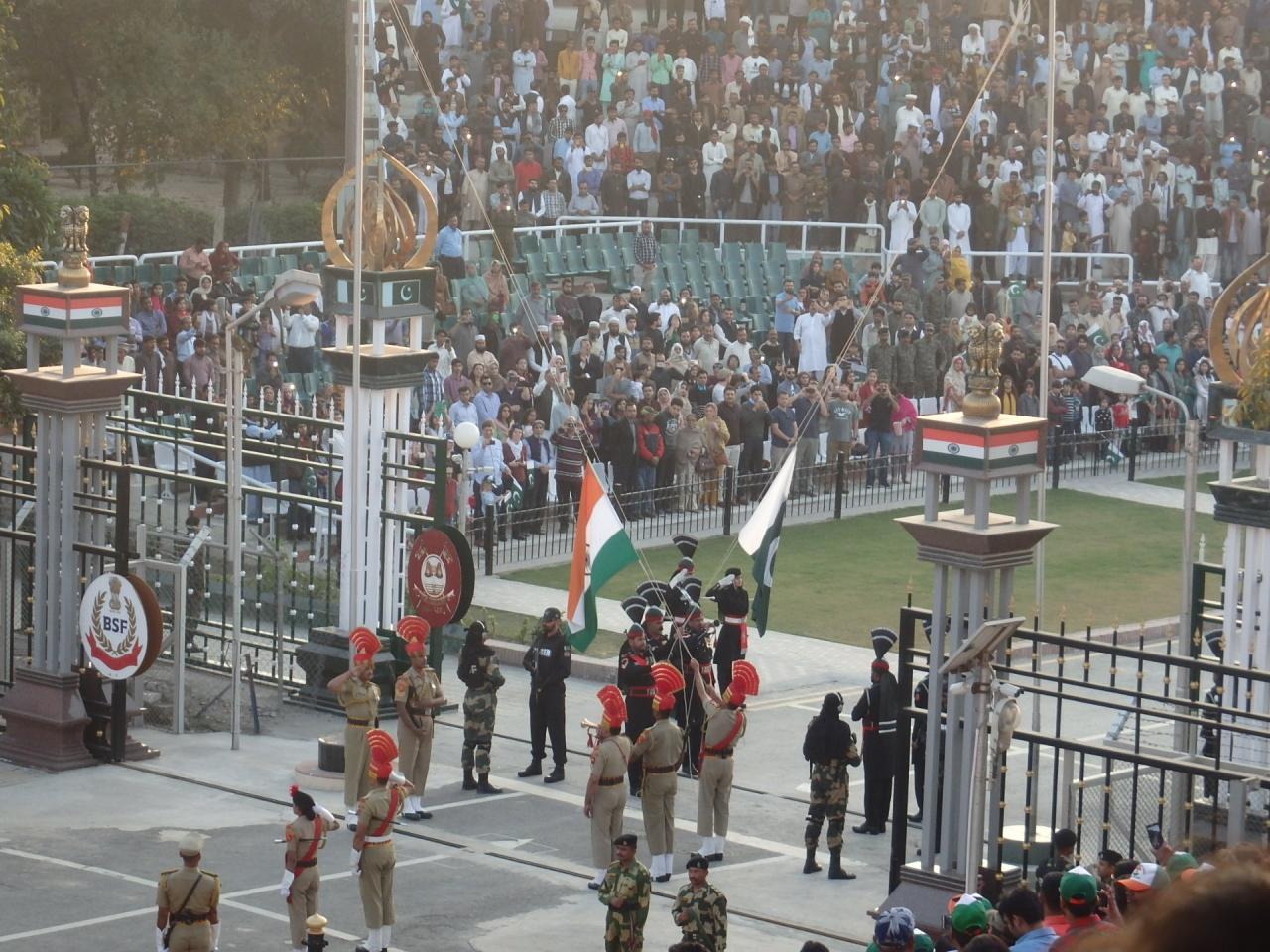 インド パキスタン 国境