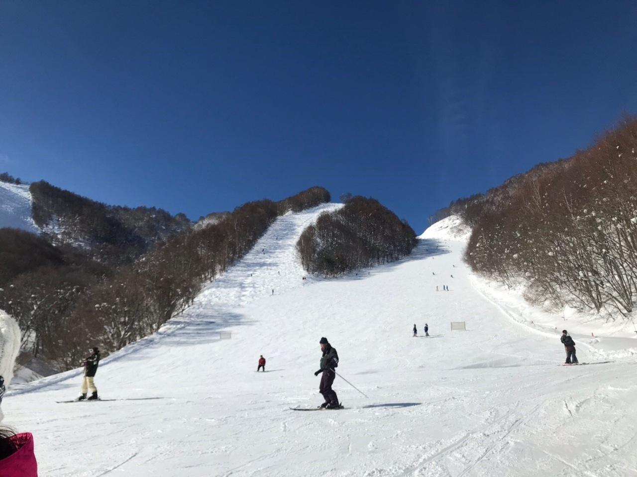 鞍 尾瀬 場 岩 スキー