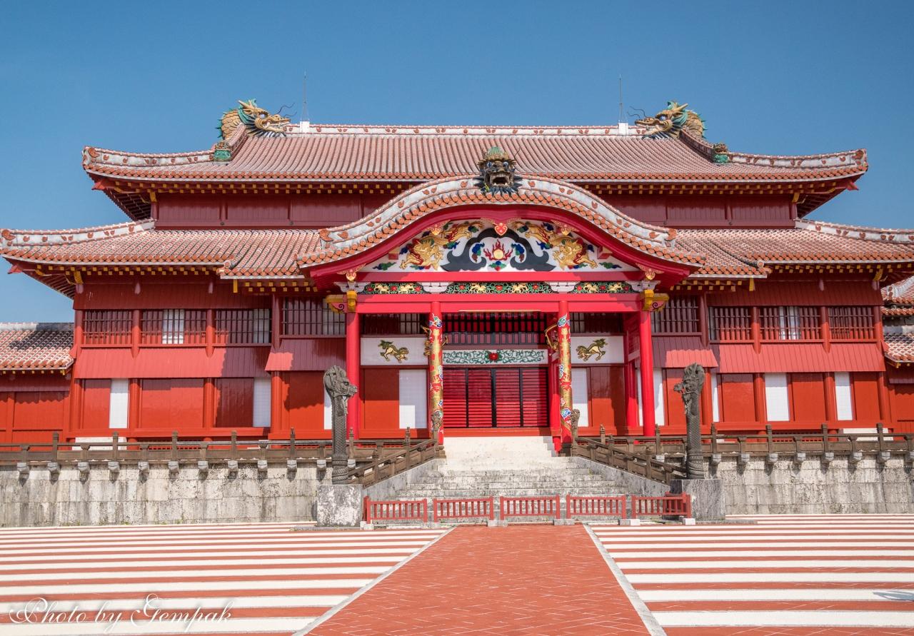 40年ぶりに沖縄へ (6)琉球の歴史を偲ぶ ~首里城と今帰仁城