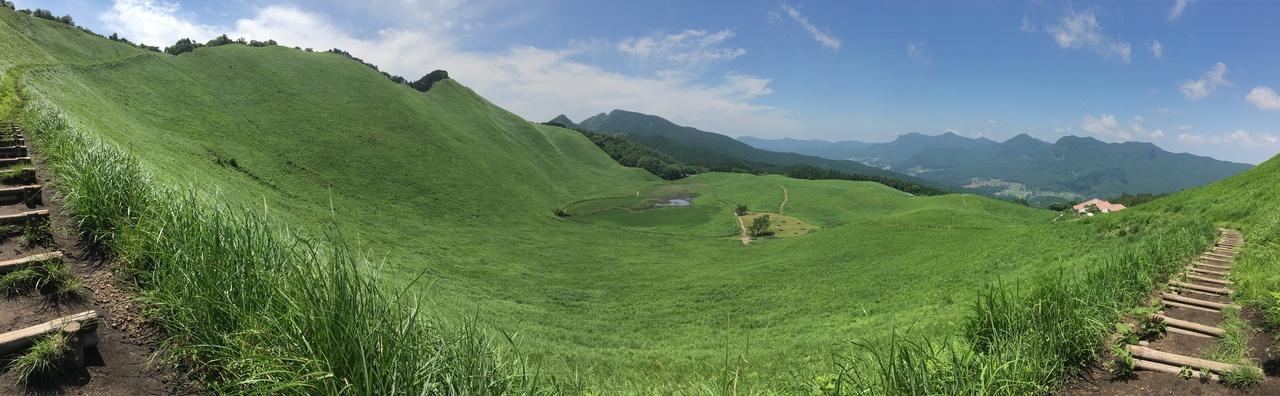 ハイキング 曽爾 高原