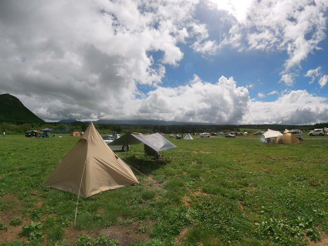 場 富士山 麓 キャンプ