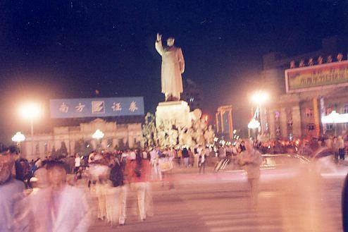 大広場の夜