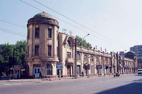 瀋陽市内の洋風建築
