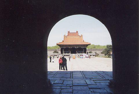 北陵(2代皇帝ホンタイジの墓)