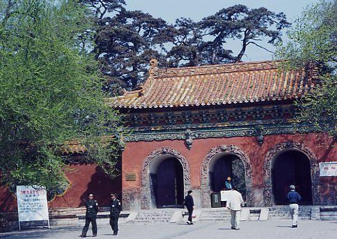 東陵(太祖ヌルハチ夫妻の墓)の入り口