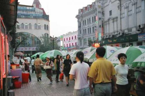 キタイスカヤ(中央大街)
