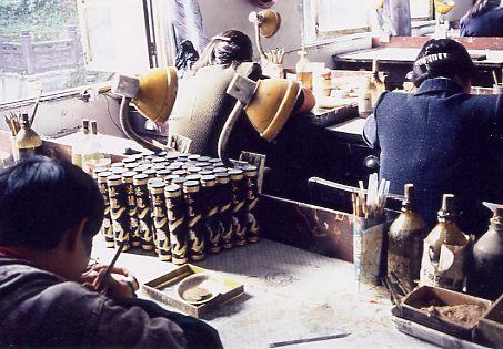 屯渓の墨工場