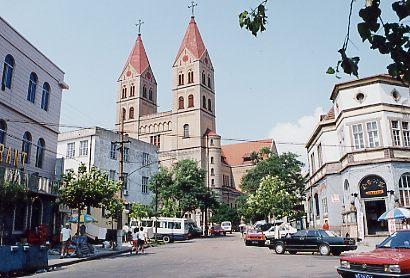 丘の上の天主教堂