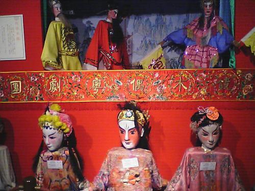 マカオ博物館の展示品。<br />持って帰りたくなるような人形ではあった。<br />