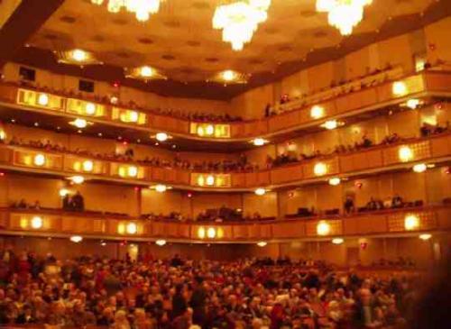 コンサートホール<br />客席