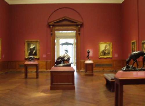 17世紀ヨーロッパ絵画の展示室