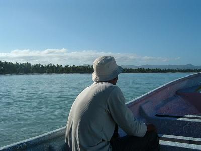 ついでに同乗したドミニカ人のお兄ちゃん。到着したとき道を案内してくれて、とってもやさしかった。