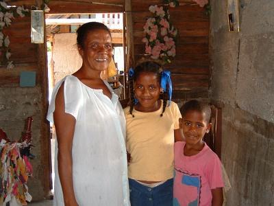 その親切なドミニカ人はこの人。MARIANAありがとう。<br />本当にやさしいきさくなおばちゃんだった。おかげで楽しい滞在となった。