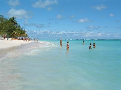 BAVAROの海はきれい。ずっと白い砂浜とCOCO(ココナッツ)林が続きます。<br />ここBAVAROは欧米人がほとんどで、そのせいかけっこう静かな大人の(?)リゾートでした。なのでのんびり、静かに休日を過ごしたい方にお勧め。逆にドミニカ人と共ににぎやかな方がいいのならばJUAN DOLIOでしょうか。<br />BAVAROは新婚旅行にもよさそう。特に海外で日本人に会いたくない方、ドミニカ共和国はお勧めです。(笑)<br /><br /><br />