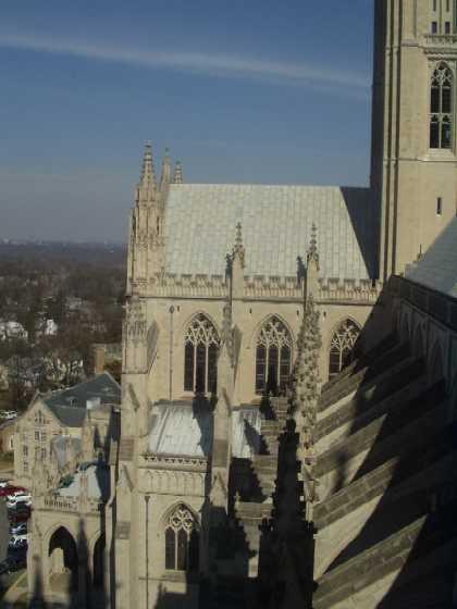タワーから見たカテドラルの外観