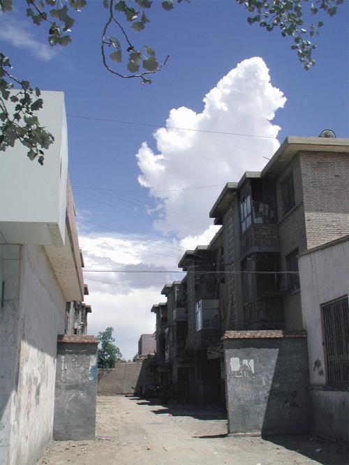 なので、珍しくって建物を変えて撮りました。<br />ここは市民の家でも高層立てになっているタイプ。