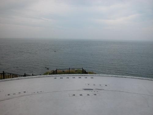 立待岬から見た景色。