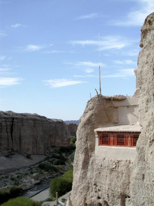 当時の僧侶住居跡。<br />今は警備員などの詰所になっている。<br />