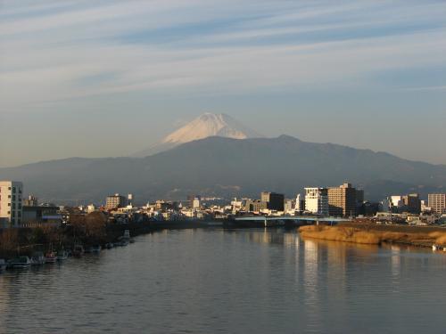 洪作少年も見ていた富士山.<br />