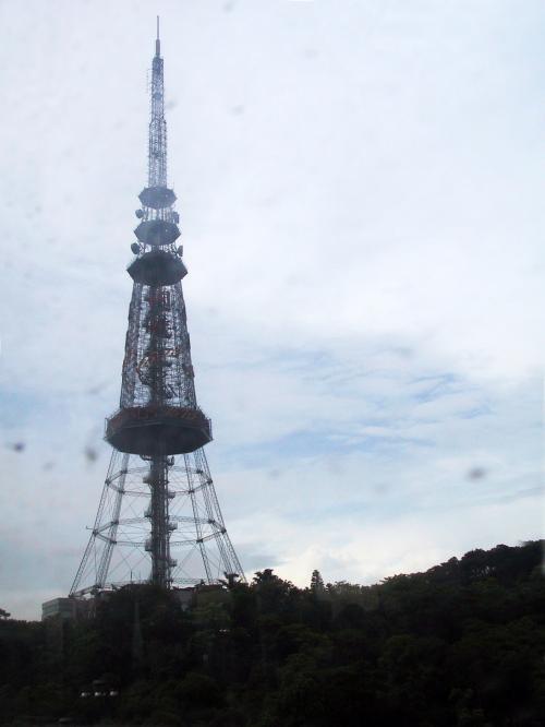行く時にも見たテレビ塔。