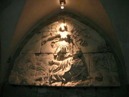 大天使 サンミッシェル彫像