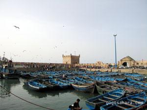 エッサウィラの港