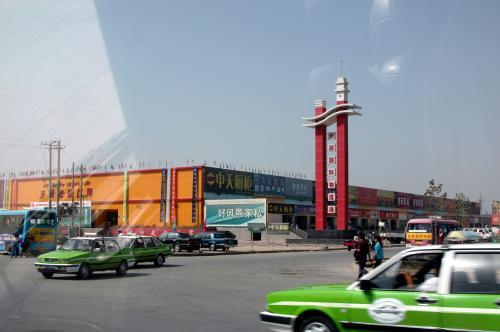 喀什も大きな町になった。<br />ホームセンターがあるし・・・<br />