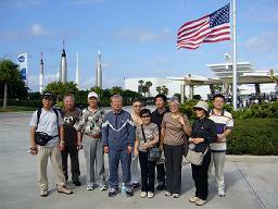 29日オーランド出発以来、無線ランを拾うのは非常に困難でした。今、マイアミ市内観光中のホテルのロビーでやっとOKになりました。溜まっていた画像データを一気にUPします。<br />12月29日(快晴)<br />ケネディ宇宙センター。右手後ろはロケットガーデン。<br />