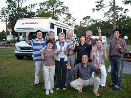 12月30日(快晴)<br />COCOAのRVパーク出発直前。<br />今日はボカラトン経由でマイアミまで。